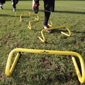 PT step training hurdle-0