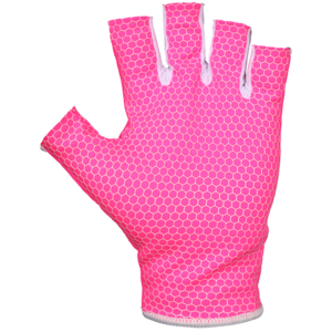 Grays Skinfit Fluorescent Pink Hockey Glove -0