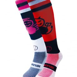 WackySox Angel and Devil Hockey Sports Sock-0