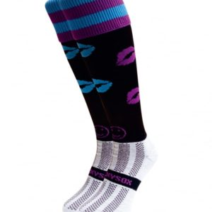 WackySox Dark Desires Hockey Sports Sock-0
