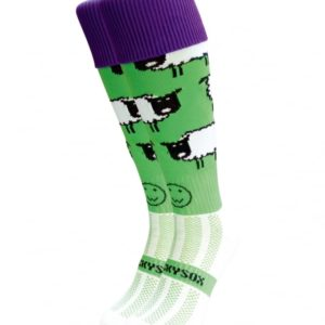 WackySox Love Ewe Hockey Sports Sock-0
