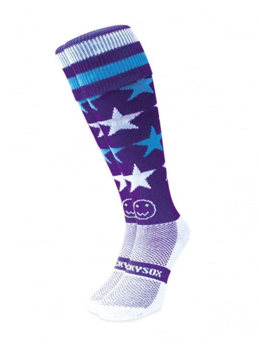 WackySox Milky Way Hockey Sports Sock-0