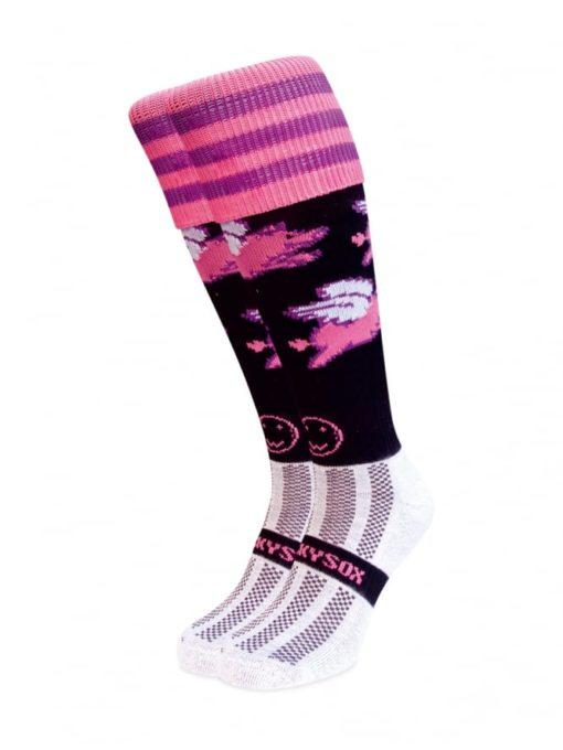 WackySox Pigs Do Fly Hockey Sports Sock-0