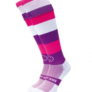 WackySox Purple Smoothie Hockey Sports Sock-0