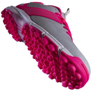 grays flash silver pink junior shoe