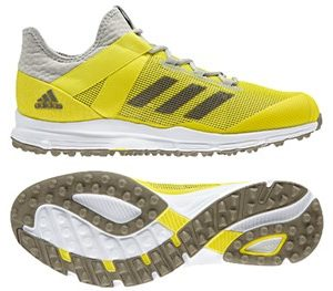 Adidas 2018 Zone Dox Yellow Mens Hockey Shoe-0