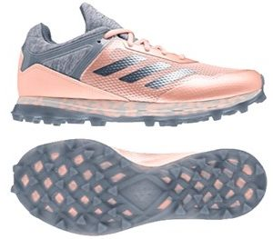 Adidas 2018 Fabela Zone Pale Pink Ladies Hockey Shoe-0