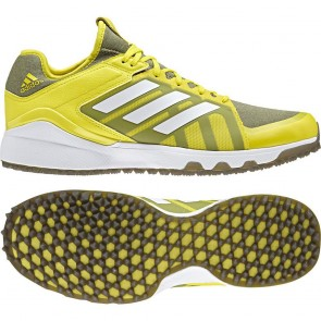 Adidas 2018 Hockey Lux Yellow Mens Hockey Shoes