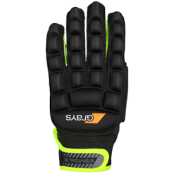 Grays International Pro LH Hockey Glove Blk Yell