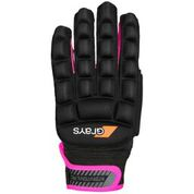 Grays International Pro LH Hockey Glove Blk Pink
