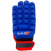 Grays International Pro LH Hockey Glove Navy Red