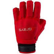 Grays Touch PRO Hockey Glove L/H Red
