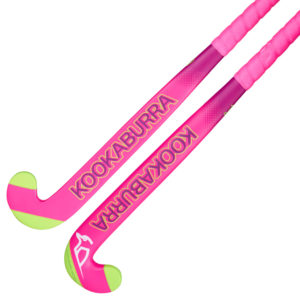 Kookaburra Neon Pink Wooden Hockey Stick 19/20