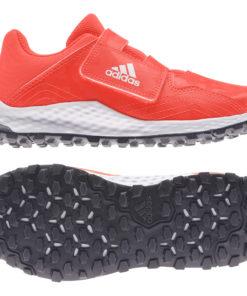 Adidas Youngstar Velcro Red Hockey Shoe 21/22