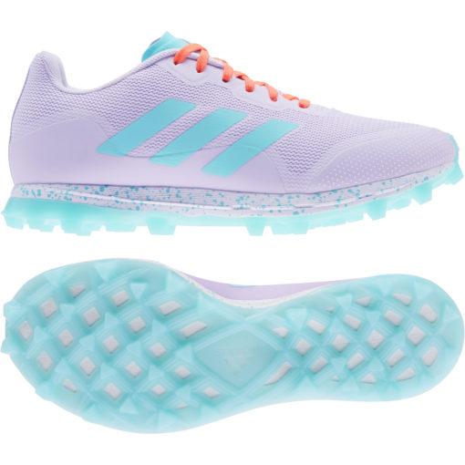 Adidas Fabela Zone 2.1 Purple Hockey Shoe 21/22