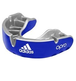 Adidas Opro Senior Gumshield Gold- Blue