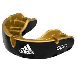 Adidas Opro Senior Gumshield Gold Braces- Black
