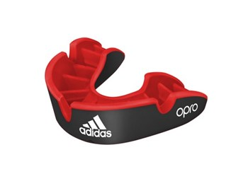 Adidas Opro Senior Gumshield Silver- Black