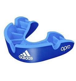 Adidas Opro Senior Gumshield Silver- Blue